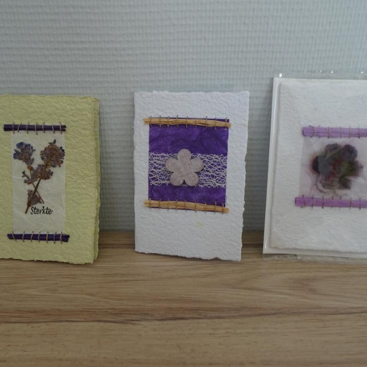 Rouwkaarten Cadeau Blanc